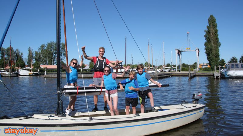 Meikamp - Zeilschool It Beaken - Heeg - Friesland - Kielboot