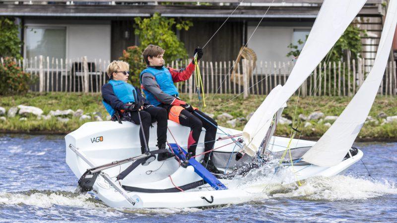 Laser Vago cursus - Zeilschool It Beaken - Heeg - Friesland