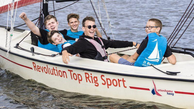 Zeilcursussen - Zeilschool It Beaken - Heeg - Kielboot cursus